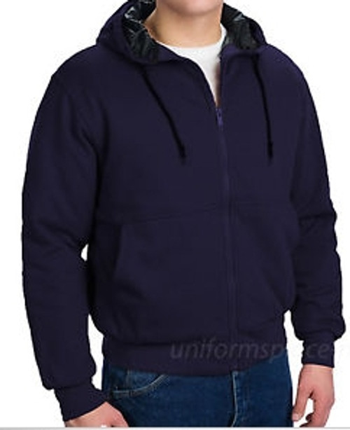 Walls Hooded Sweatshirt Navy Blue Large Regular