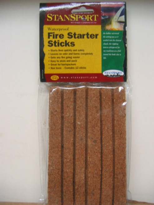 Fire Starter Sticks Pack of 12