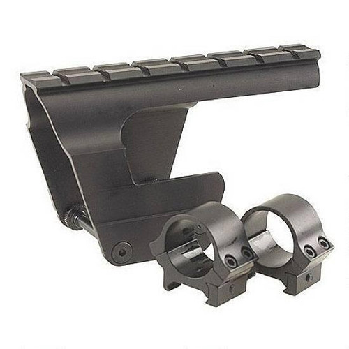 "B-Square AK-47/MAK-90 One Piece Receiver Scope Mount with 1"" Rings Matte Black"