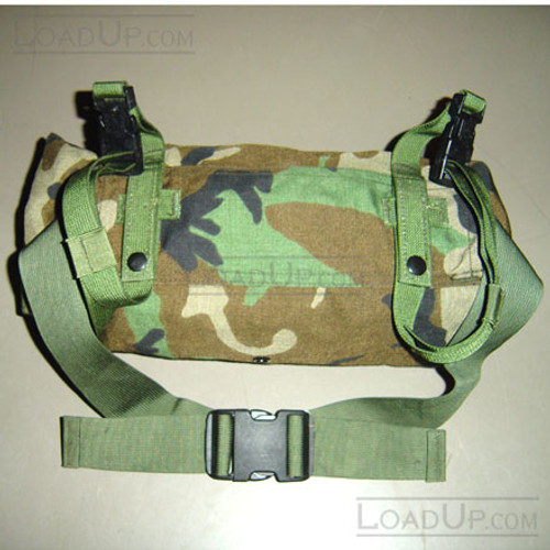 GI MOLLE II WAIST PACK WOODLAND NEW