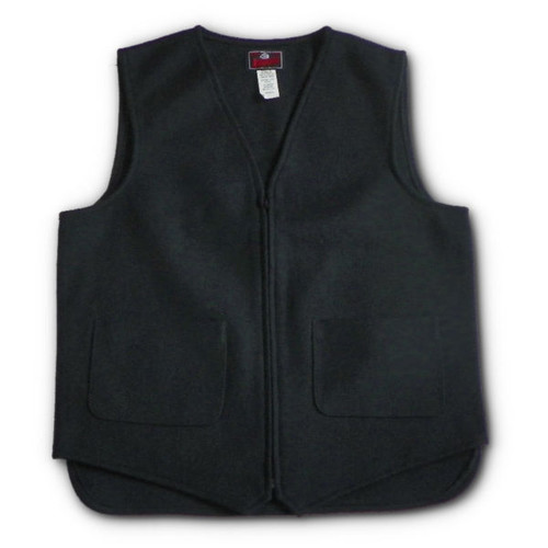 Johnson Woolen Mills Men's Unlined Wool Vest Medium