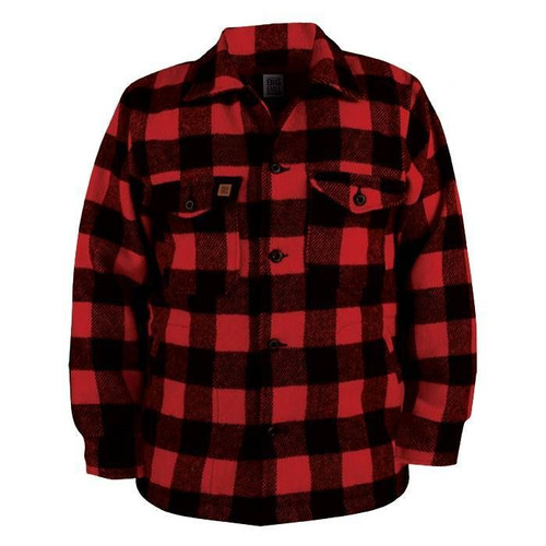 Big Bill Buffalo Plaid Wool Jac Shirt