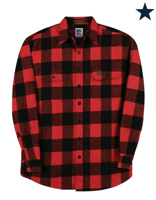 Big Bill Buffalo Plaid Premium Flannel Shirt