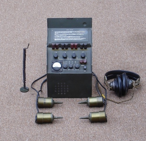 G.I. Hardwired PSR1A Seismic Intrusion Detector Set