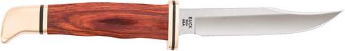 Buck Knife 0102 Woodsman Fixed Blade Knife with Sheath
