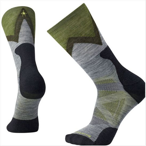 Smartwool Unisex PhD Outdoor Light Cushion Sock Gray Medium