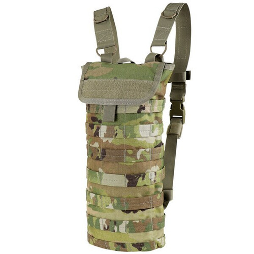 Condor Outdoor HC-800 Hydration Carrier with Removable shoulder straps, Sternum straps, Scorpion OCP Pattern