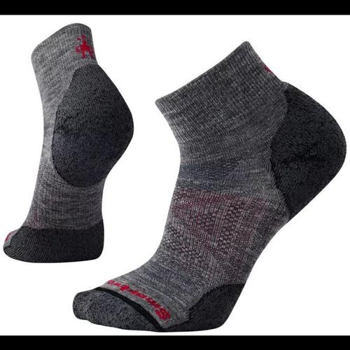PhD Outdoor Light Mini Hiking Socks Unisex Gray