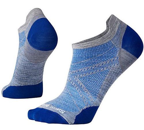 Smartwool Unisex PhD Run Ultra Light Micro Socks Light Blue Large