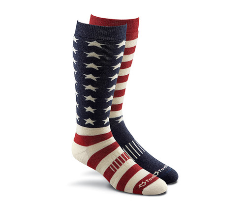 Fox River Old Glory American Flag Wool Socks Men/Unisex