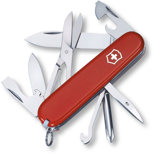 Victorinox Swiss Army Super Tinker Multi-Tool Knife Red