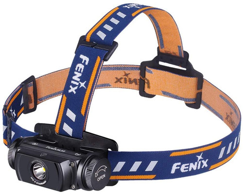 Fenix Flashlight HL55 900 Lumens Headlamp, Black