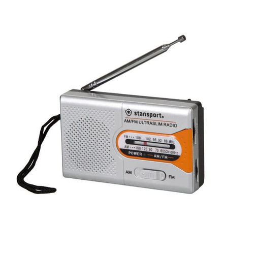 Stansport AM/FM Receiver Emergency Radio