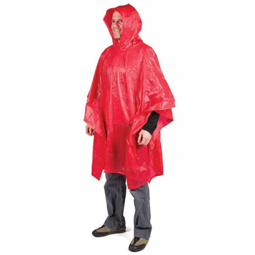 Peregrine Lightweight Poncho Choose Red, Green, Blue