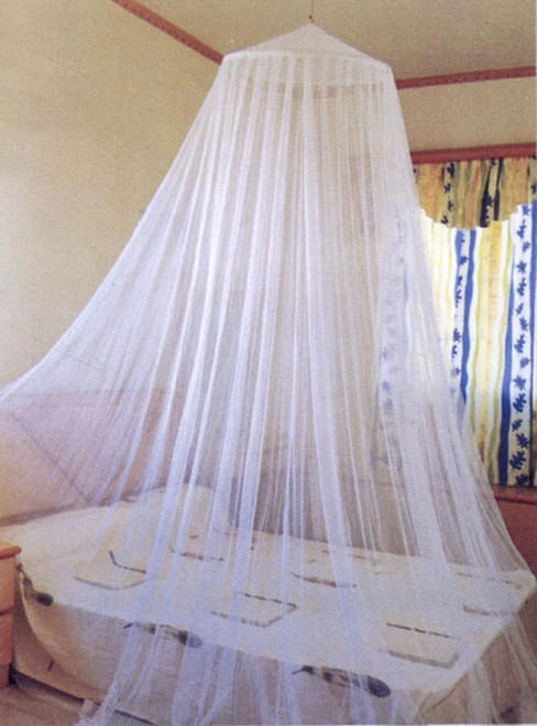 The Pest Net Mosquito Net - Ceiling Hang-  White
