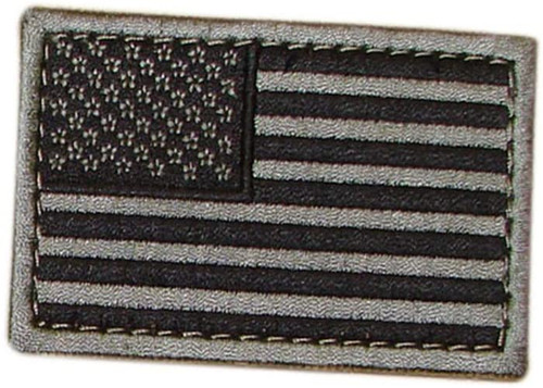 Condor American Flag Patch and Reverse American Flag Patch - Foliage