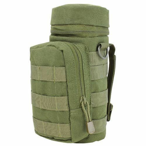 CONDOR MA40-001 Padded H2O Water Pouch MOLLE Bottle Carrier OD