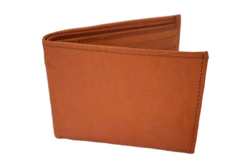Montana Leather Company Bifold Wallet Genuine Leather