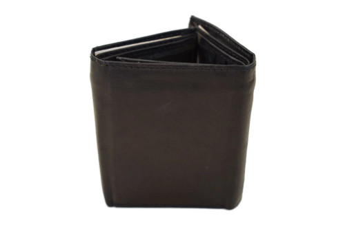 Montana Leather Company Leather Tri-fold Wallet