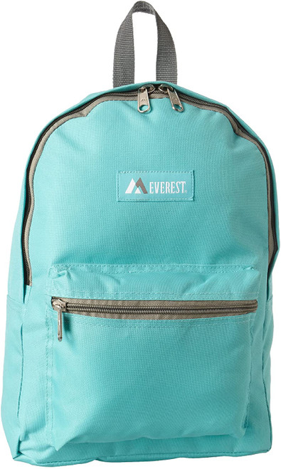 Everest 1045K Basic Backpack, Aqua Blue