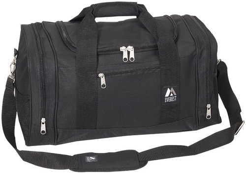 Everest Luggage Sporty Gear Bag, Black