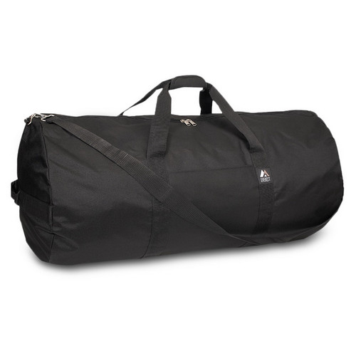 EVEREST 36P 36-Inch Round Duffel, Black