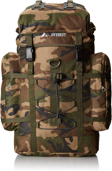 Everest Woodland Camo Hiking Pack C8045D