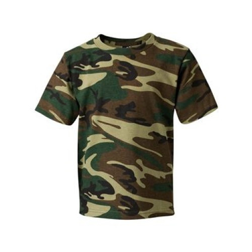 Rothco Kids Camo T-Shirt Short Sleeve