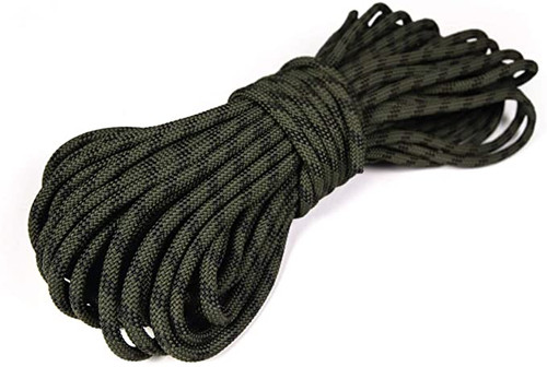 "MFP Camo Utility Rope - Double Braid Jacket, Straight Fiber Core Camo 1/4""x100'"