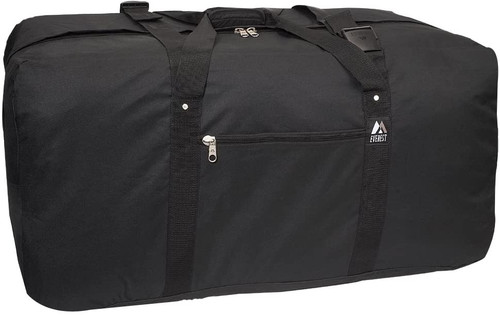 "Everest Cargo Duffel - Medium, Black 36""x18""x16"""