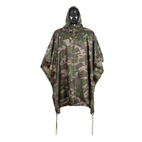 GI Style Rubberized heavy Duty Poncho