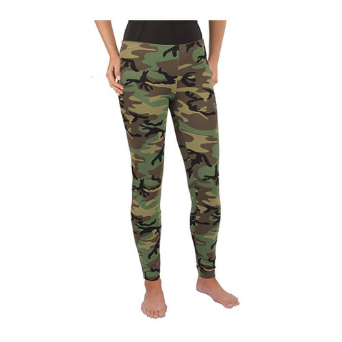 Women's Woodland Camo Leggings