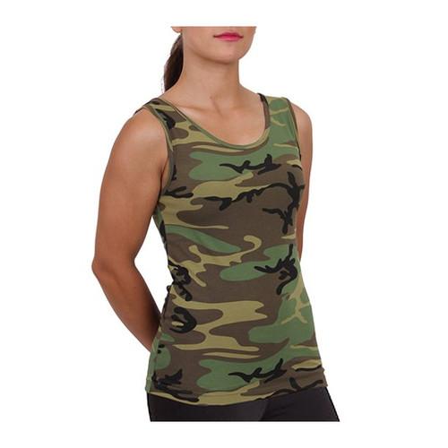 Women's Woodland Stretch Tank Top