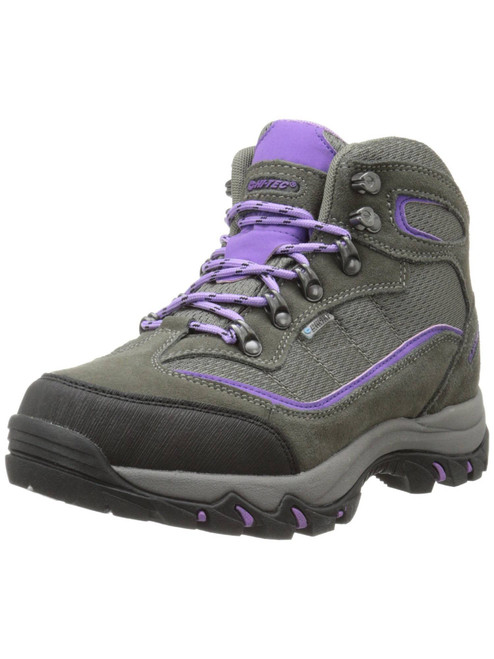 Women's Skamania Mid-Rise Suede/Fabric Waterproof Hiking Boots Hi-Tec