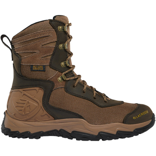 Lacrosse Men's Windrose 513360 Waterproof Boot Brown