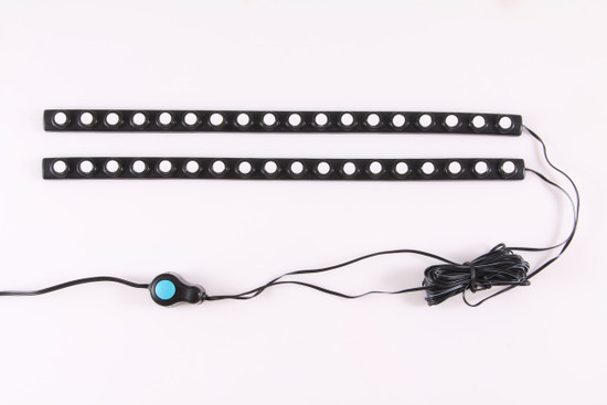 861122 LED Bed Rail Auxiliary Light - 1 Watt - Incl. 2  Lighting Strips/Switch -