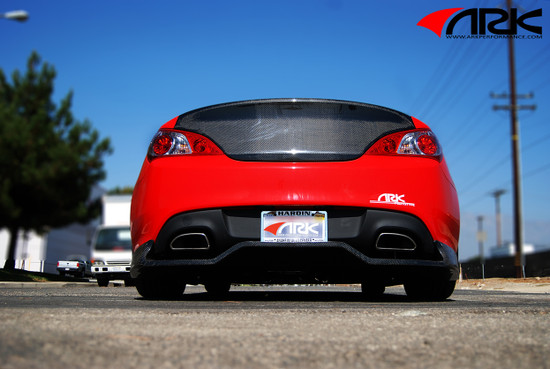 ARK Performance C-FX BODY KIT: Rear Diffuser/Tail Light Diffuser