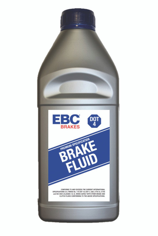 EBC Brakes BF004(L) DOT-4 BRAKE FLUID-1 LITRE