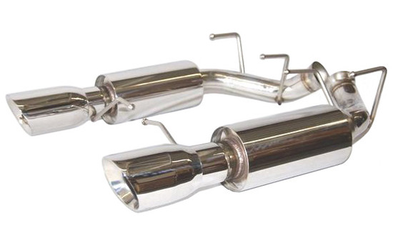 FlowTech 12137FLT 2011-14 MUSTANG GT/BOSS 302 AXLE-BACK EXHAUST