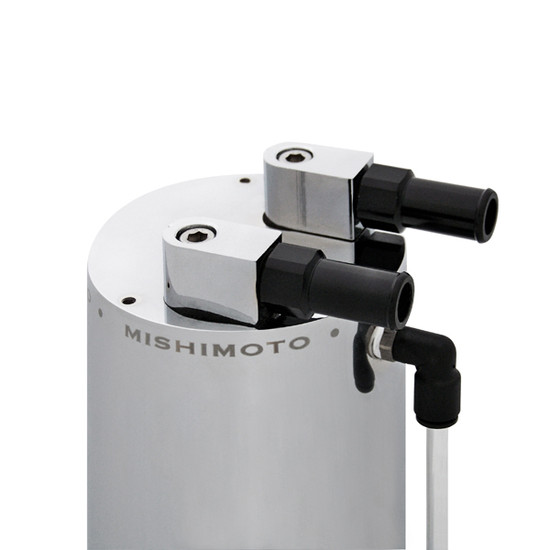 Mishimoto Aluminum Oil Catch Can - Large MMOCC-LA