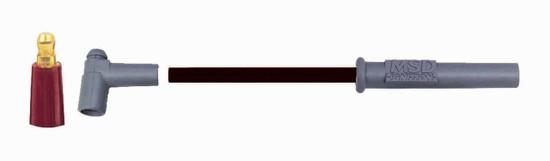 MSD 31183 Wire Set, Black Super Conductor, 8-cyl. Multi-Angle/HEI, Universal