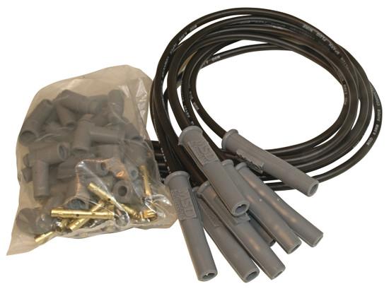 MSD 31193 Wire Set, Black Super Conductor, 8-cyl. Multi-Angle, Universal
