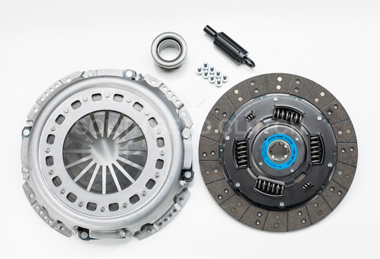 """South Bend Clutch 1944-6OFEK-6.0/6.4 5.9L-6.7L Cummins to FORD ZF-6 TRANS 6.0L/6.4L 13"""" half Organic half Feramic clutch kit w/ flywheel 475 hp 1000 trq 25k towing capacity Not recommended for stock applications"""