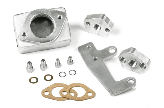 Weiand 7132WIN KIT-CHRY THERMOSTAT HSNG-SATIN REINSTATED