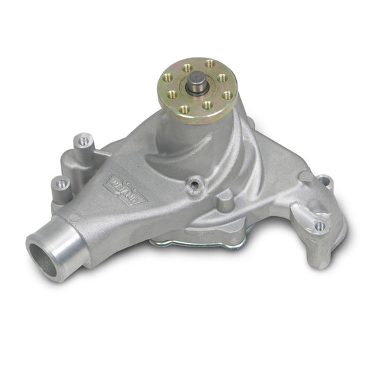 Weiand 9240 SBC LONG ACTION PLUS WATER PUMP-SATIN