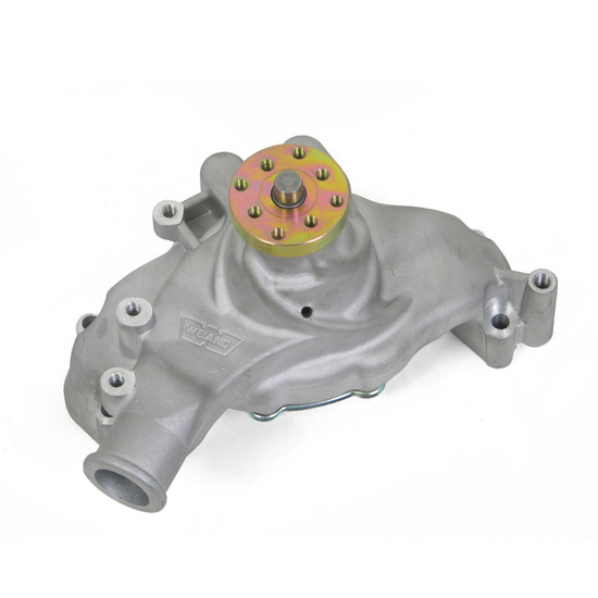 Weiand 9242 BBC LONG ACTION WATER PUMP-SATIN