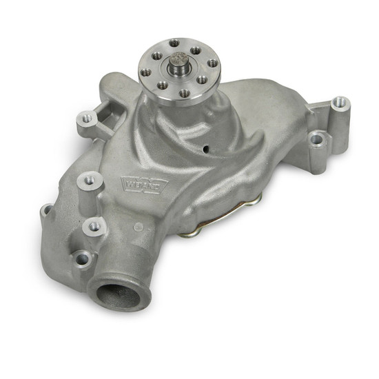 Weiand 9243 BBC LONG TEAM G WATER PUMP-SATIN