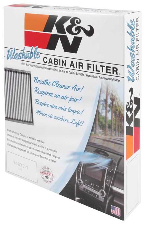 K&N VF2000 Cabin Air Filter 2005-2018 Toyota Avalon