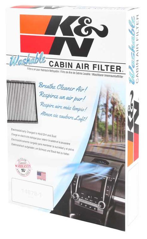 K&N VF1000 Cabin Air Filter 1999-2002 Chevrolet Silverado 1500