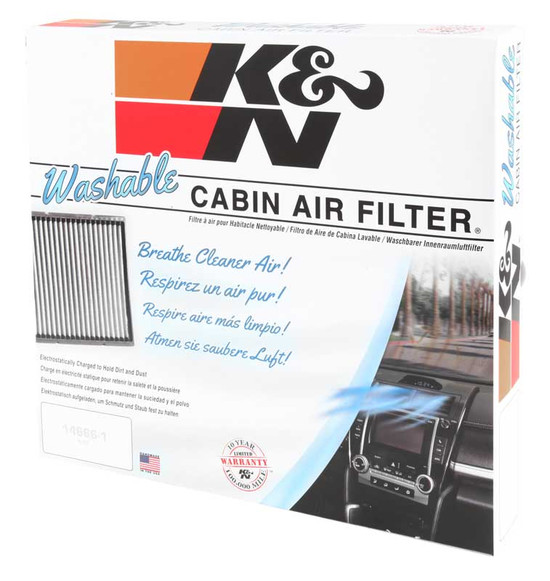 K&N VF3006 Cabin Air Filter 1998-2002 Honda Accord